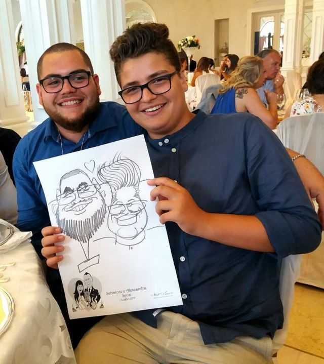 Caricature al Matrimonio