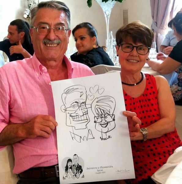 Caricaturista al Matrimonio